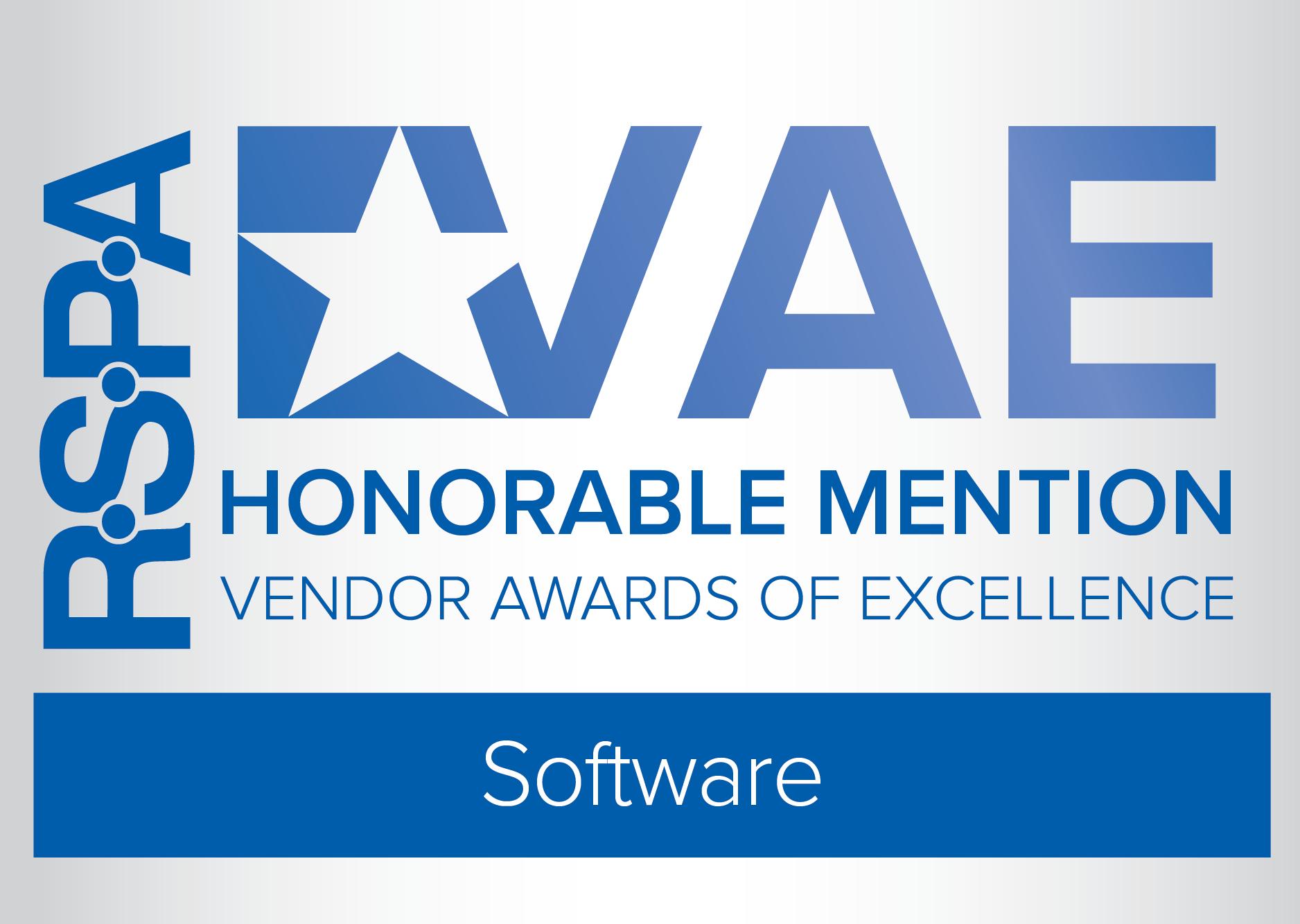 RetailNOW 2021 Vendor Award